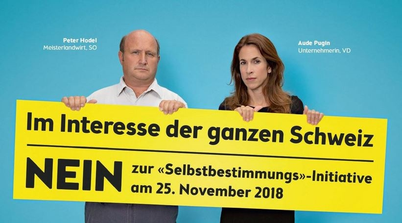 Selbstbestimmungsinitiative 25. Nov. 2018